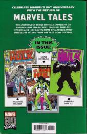 Verso de Marvel Tales Featuring (Marvel Comics - 2019) - Hulk # 1