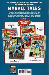 Verso de Marvel Tales Featuring (Marvel Comics - 2019) - Captain America # 1