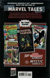 Verso de Marvel Tales Featuring (Marvel Comics - 2019) - Black Widow # 1