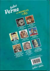 Verso de Poèmes en bandes dessinées -a2008- Les nouvelles de Jules Verne en bande dessinée