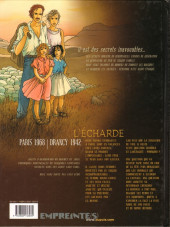Verso de Secrets - L'écharde -1- Tome 1