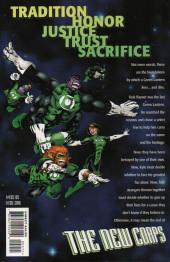 Verso de Green Lantern: The New Corps (1999) -2- Green Lantern: the New Corps