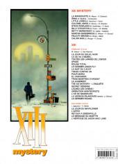 Verso de XIII Mystery -5a2012- Steve Rowland