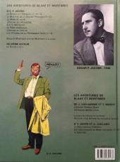 Verso de Blake et Mortimer (Les Aventures de) -7c2003- L'Enigme de l'Atlantide