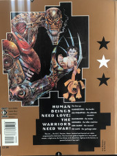 Verso de ABC Warriors (1991) - The black hole