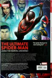 Verso de Spider-Man: Miles Morales -OMN- Spider-Man : Miles Morales