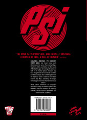 Verso de Judge Anderson: The Psi Files (2000AD - 2010) -INT03- Volume 03