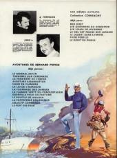 Verso de Bernard Prince -10a1979- Le souffle de moloch