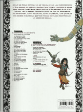 Verso de Thorgal (Les mondes de) - Louve -1a2013- Raïssa