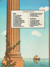 Verso de Alix -7a1981- Le Dernier Spartiate