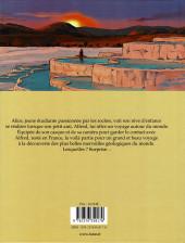 Verso de Alice et les 10 merveilles - Alice et les 10 merveilles à la découverte des plus beaux sites géologiques du monde