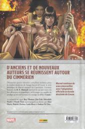 Verso de Savage Sword of Conan -2- Conan le Joueur