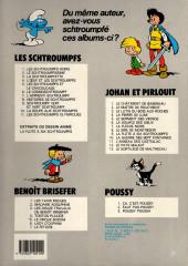 Verso de Les schtroumpfs -10a1987- La soupe aux Schtroumpfs