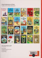 Verso de Tintin (The Adventures of) -22e2004- Flight 714 to Sydney