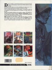 Verso de De silence et de sang -1a1992- La nuit du tueur de loups