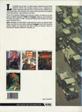Verso de De silence et de sang -3a1990- Dix années de folie