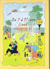 Verso de Tintin - Pastiches, parodies & pirates -a2020- L'affaire roswell