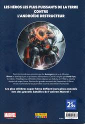 Verso de Marvel - Les Grandes Batailles -1- Avengers VS Ultron