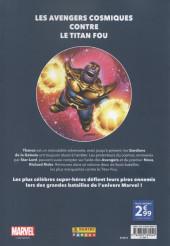 Verso de Marvel - Les Grandes Batailles -2- Les Gardiens de la Galaxie VS Thanos