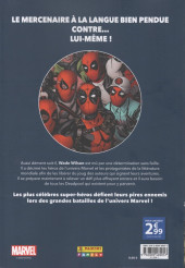 Verso de Marvel - Les Grandes Batailles -3- Deadpool VS Deadpool