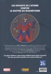 Verso de Marvel - Les Grandes Batailles -4- X-Men VS Magnéto