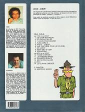 Verso de Clifton -5a1992- Atout... cœur !