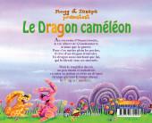 Verso de Fées et dragons -4- Le dragon caméléon