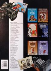 Verso de Spirou et Fantasio -HS01 b2002- L'héritage