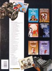 Verso de Spirou et Fantasio -HS02 b2003- Radar le robot