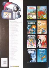 Verso de Spirou et Fantasio -1d2005- 4 aventures de Spirou ...et Fantasio
