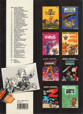 Verso de Spirou et Fantasio -11b1988- Le gorille a bonne mine