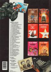 Verso de Spirou et Fantasio -12b1992- Le nid des marsupilamis