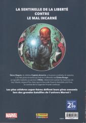 Verso de Marvel - Les Grandes Batailles -9- Captain America VS Crâne Rouge