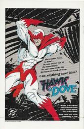 Verso de Animal Man Vol.1 (DC comics - 1988) -1- The Human Zoo