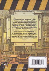 Verso de Space Unit - La BD dont vous êtes le héros -1- Mission : Tartarus III