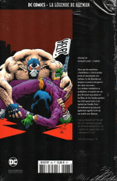 Verso de DC Comics - La légende de Batman -6836- No man's land - 3e partie