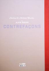 Verso de Jérôme K. Jérôme Bloche -TT- Contrefaçons
