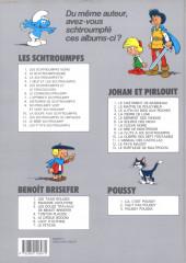 Verso de Benoît Brisefer -6a1993- Lady d'Olphine