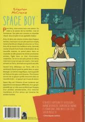 Verso de Space Boy -1- Tome 1