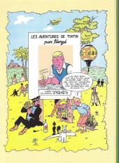 Verso de Tintin - Pastiches, parodies & pirates -a2020- Ovni 666 pour vanuatu