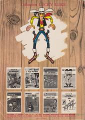 Verso de Lucky Luke -18b1968'- A l'ombre des derricks