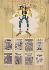 Verso de Lucky Luke -21a1969'- Les collines noires