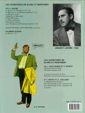 Verso de Blake et Mortimer (Les Aventures de) -8b2004- S.O.S. météores