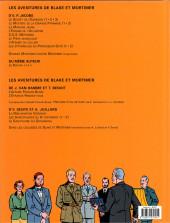 Verso de Blake et Mortimer (Les Aventures de) -13b2008- L'affaire Francis Blake