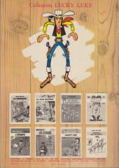 Verso de Lucky Luke -29a1970- Des barbelés sur la prairie