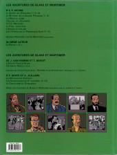 Verso de Blake et Mortimer (Les Aventures de) -14a2008- La Machination Voronov