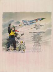 Verso de Tanguy et Laverdure -4b1972- Escadrille des Cigognes