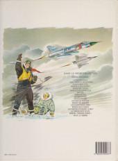 Verso de Tanguy et Laverdure -6e1984- Canon bleu ne répond plus