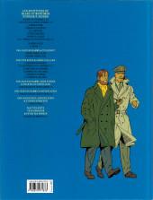 Verso de Blake et Mortimer (Les Aventures de) -19b2018- La Malédiction des trente deniers - Tome 1