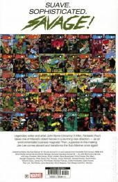Verso de Namor, The Sub-Mariner Omnibus (2019) - Namor by John Byrne